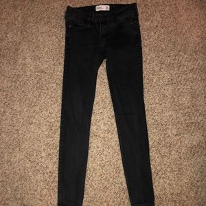 abercrombie black skinny jeans